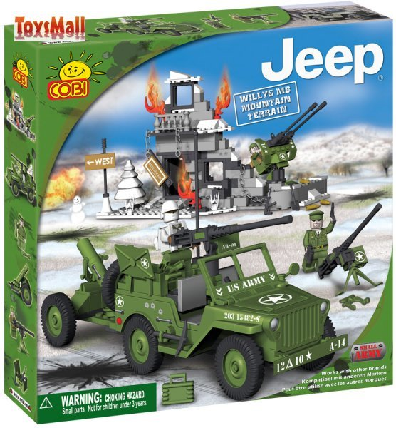 Cobi JEEP Willys MB Mountain Terrain